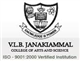 V.L.B. Janaki Ammal College Of Arts & Science Logo