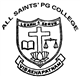 All Saints Pg College Logo