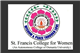 St Francies College for Women Logo