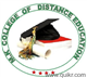 MK College of Distance Education Logo