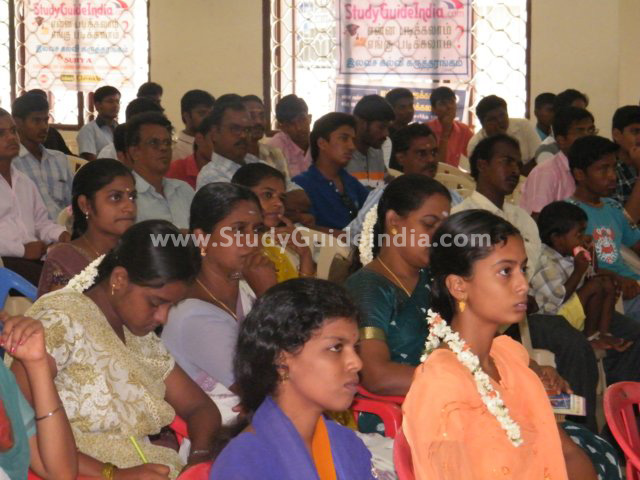 Study Guide Education Expo at Puducherry