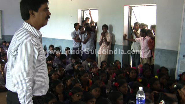 Free Career Guidance Event at Pudurnadu, Tamilnadu