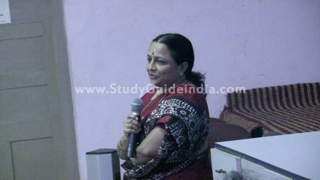 International seminar at Madras University
