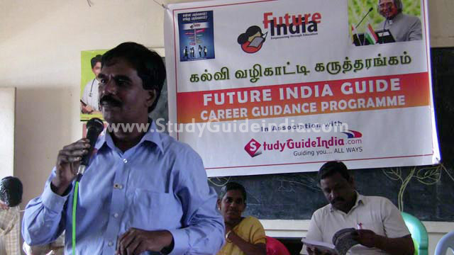 Free Career Guidance Programme & Book Distribution in association Future India Trust